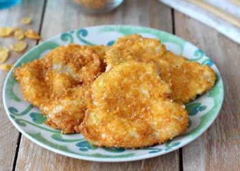 Escalopes de poulet aux corn flakes
