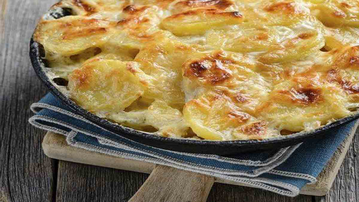 Onctueux gratin dauphinois