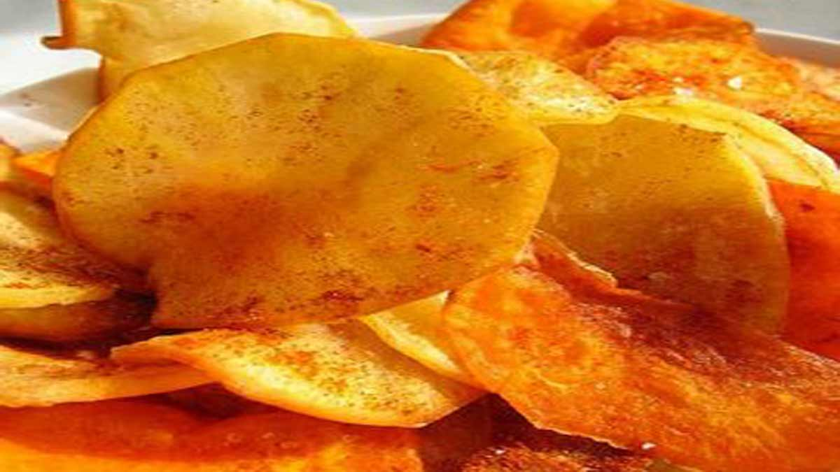 chips patates douces
