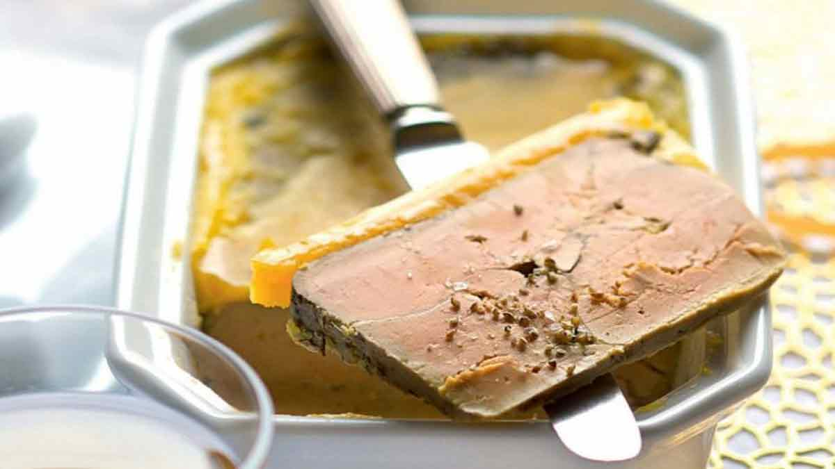 Terrine de foie gras tradition