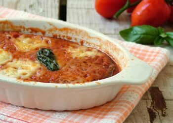 gratin aux aubergines-tomate-fromages